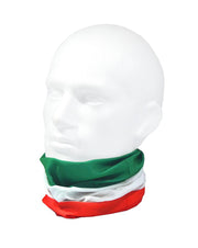 Flag of Italy Multifunctional Scarf RUFFNEK® Green/White/Red