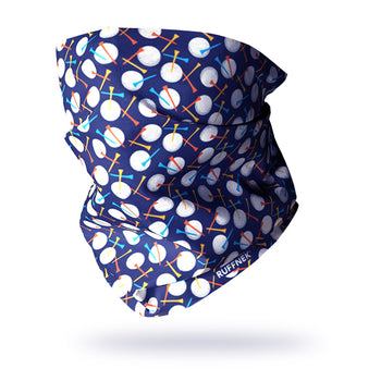 Golf Multifunctional Scarf RUFFNEK® Navy Blue