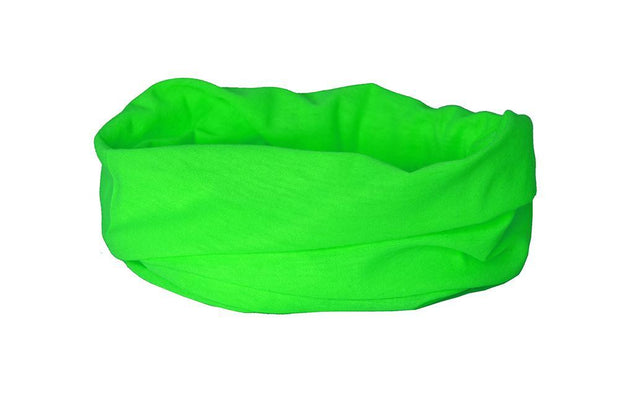 Fluorescent Green Multifunctional Scarf RUFFNEK® Neon/Green