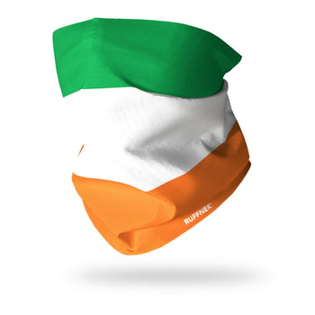 Flag of Ireland Multifunctional Scarf RUFFNEK® Orange/White/Green