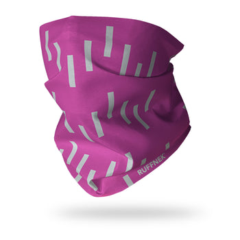 Reflective Hi Vis Pink - Be Safe Be Seen Multifunctional Scarf RUFFNEK® Pink