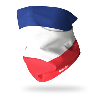 Flag of France Multifunctional Scarf RUFFNEK® Red/White/Blue