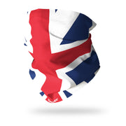 Naval Flag of Great Britain / King's Colours 1707-1801 Multifunctional Scarf RUFFNEK® Red/White/Blue
