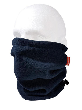 Navy Blue Pro Zero Fleece Neckwarmer Neck Gaiter RUFFNEK® Navy Blue