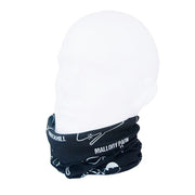 Moto Circuits Neck Gaiter RUFFNEK® One Size / Black/White