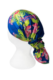 Pink Flamingo Multifunctional Scarf RUFFNEK® Blue/Pink/Green