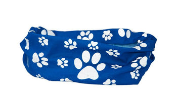 Reflective Dog Scarf/Bandana! Blue Dog Scarf RUFFNEK® Blue
