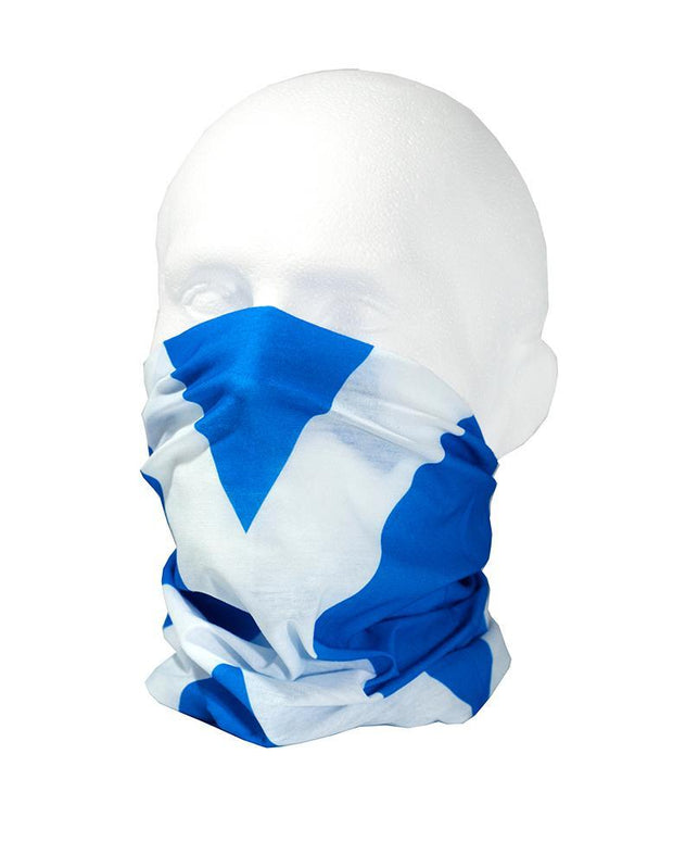 Scottish Flag / The Saltire Multifunctional Scarf RUFFNEK® Blue/White