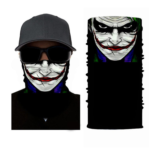 The Joker Multifunctional Scarf RUFFNEK® Black