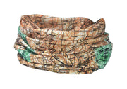 The Yorkshire 3 Peaks Multifunctional Scarf RUFFNEK® Beige/Green