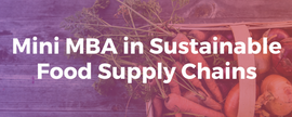 Mini MBA: Sustainable Food Supply Chains