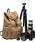 DSLR Camera Waterproof Canvas Backpack