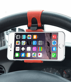 PRO Universal Car Steering Wheel Phone Holder