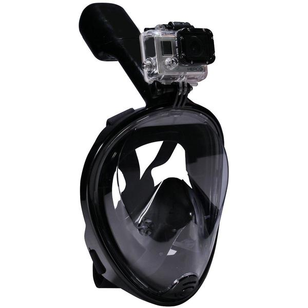 Full Face Snorkel Mask with Action Camera Mount