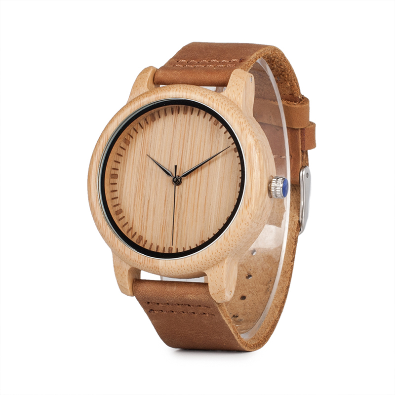 ⌚ Classic Bamboo Wooden Watches