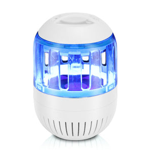 Ultra Silent Inhalant Mosquito Killer LED Lamp Bug Zapper USB Powered