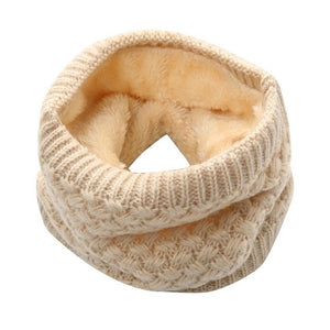 Women's Thermal Knitted Collar Scarf