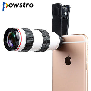 8X HD Optical Telescope Phone Lens