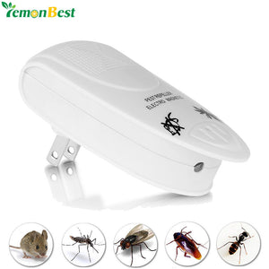 US/EU Plug Ultrasonic Electronic Mosquito Insect Repellent 110V-240V