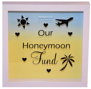 Our Honeymoon Fund Frame/Money Box