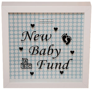 New Baby Fund Frame/Money Box