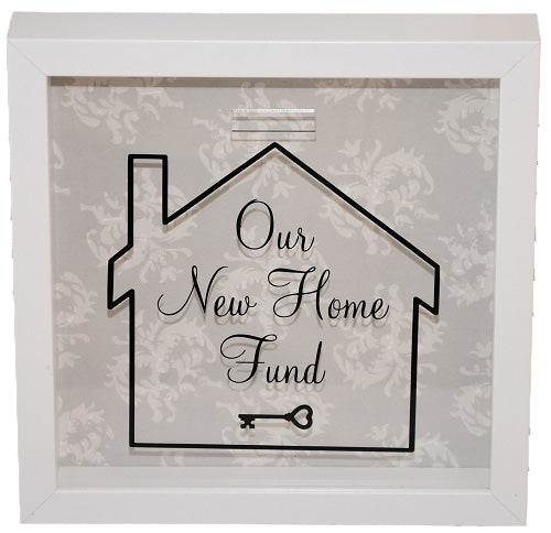 Our New Home Fund Frame/Money Box