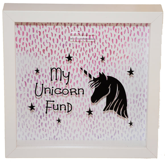 My Unicorn Fund Frame/Money Box