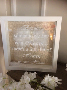 Heaven/Angel Wing Print Frame