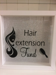 Hair Extension Fund Frame/Money Box
