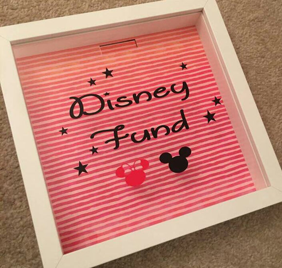 Disney Fund Frame/Money Box