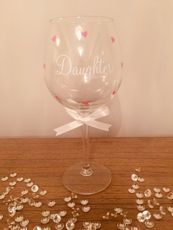 Daughter Wine Glass