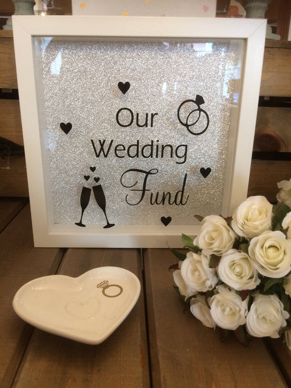 Our Wedding Fund Frame/Money Box