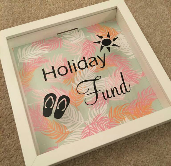 Holiday Fund Frame/Money Box