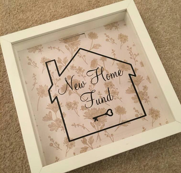 New Home Fund Frame/Money Box