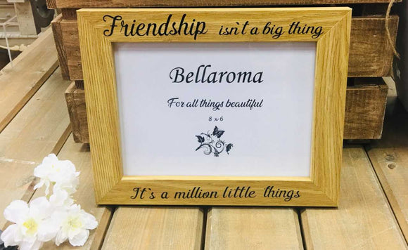 Oak Effect 'Friendship' Frame