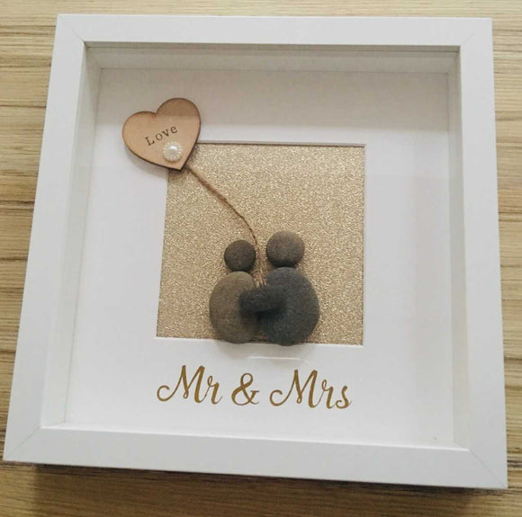 Personalised Pebble Art Frame For Any Occasion