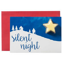 Silent Night Bath Blaster Christmas Card