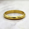 22 KT Yellow Gold Classic Men's Plain Wedding Band