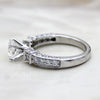 1CT Art Deco Solitaire Diamond Statement Ring