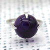 Amethyst Fine Statement Cabochon Ring
