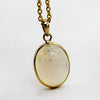 4.35 CT Natural Opal Oval Cabochon Pendant
