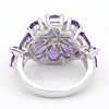 Natural Amethyst Fine Ring February Birthstone