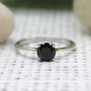 Black Onyx Stackable Ring