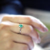 Natural Emerald Fine Ring