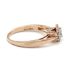 18k Rose Gold Natural Diamond Ring Engagement Ring