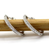 Inside Out Genuine Diamond Hoop Earrings