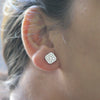 Swarovski Diamond Fine Stud Earrings