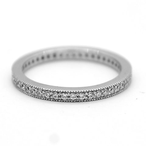 Full Eternity Stackable Band/Ring