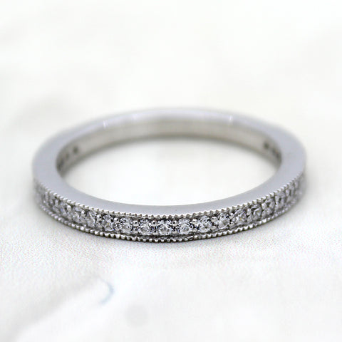 Half Eternity Stackable Band/Ring