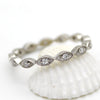 Marquise Full Eternity Stackable Band
